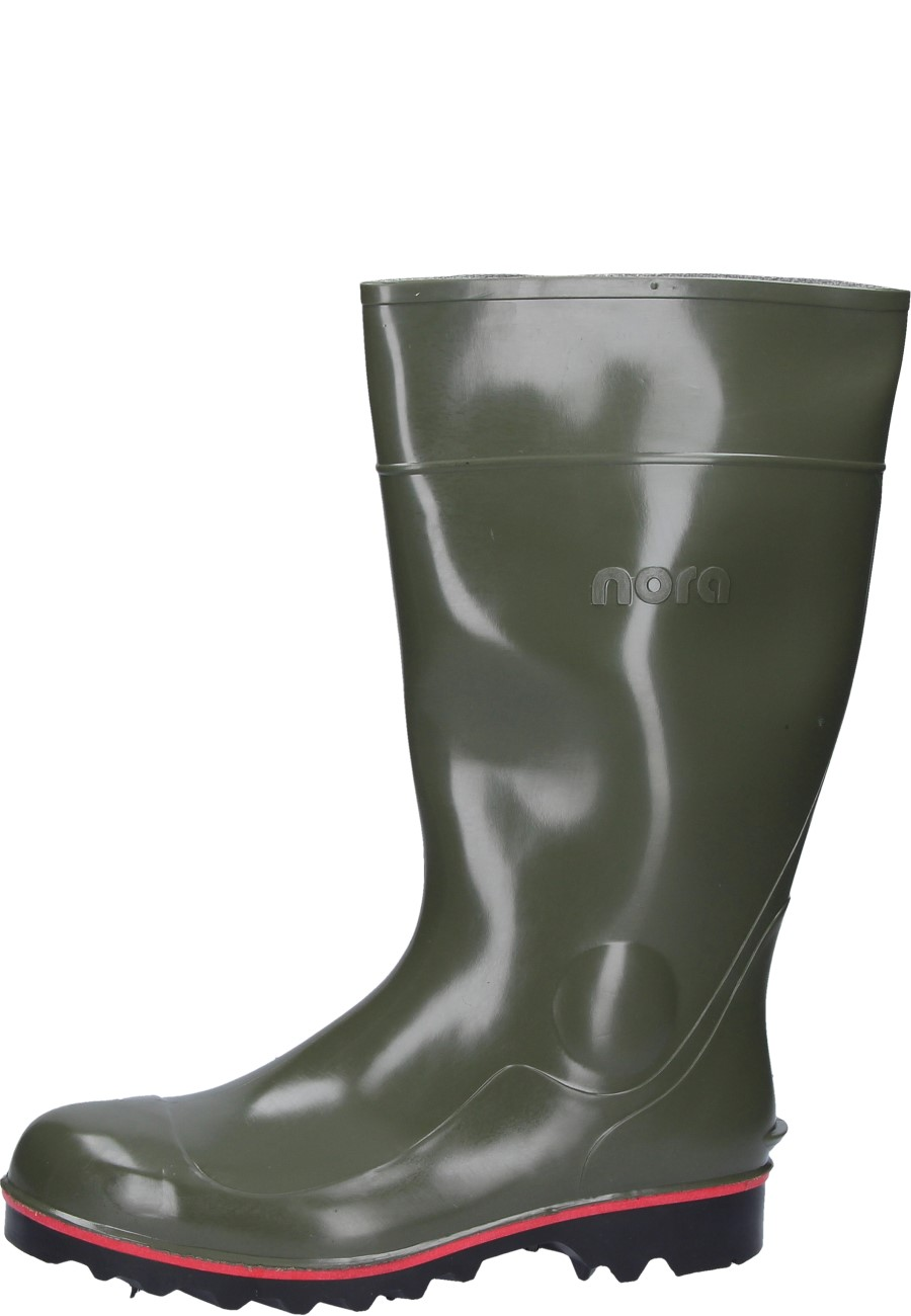 65335c9f1c4 Nora -Mega Jan- Olive Safety Wellington boots - with steel toe cap and  midsole / class S5