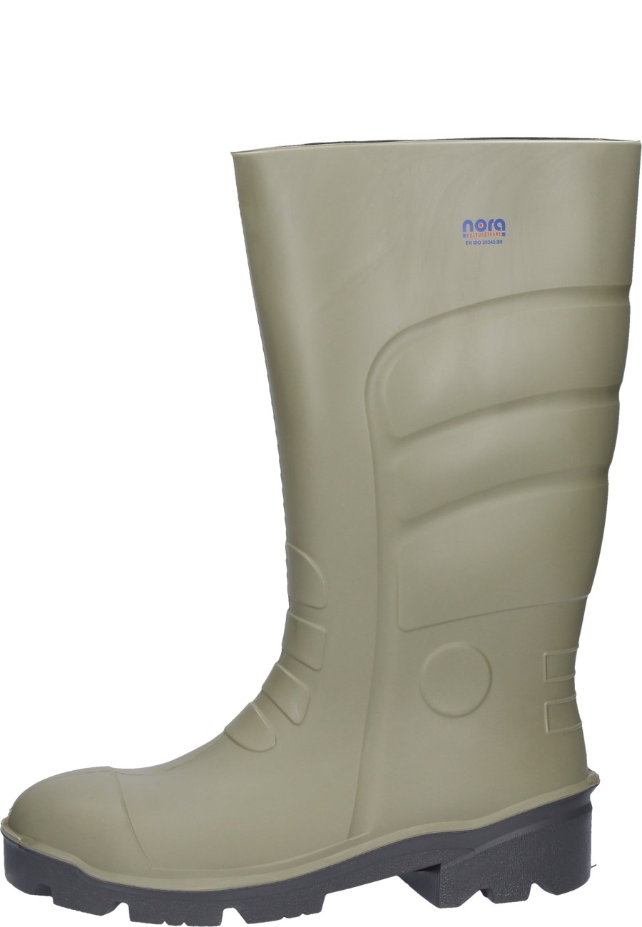 f9735eb4042 Nora -Megamax- Wellington boots - with extra wide comfort-steel toe cap S5