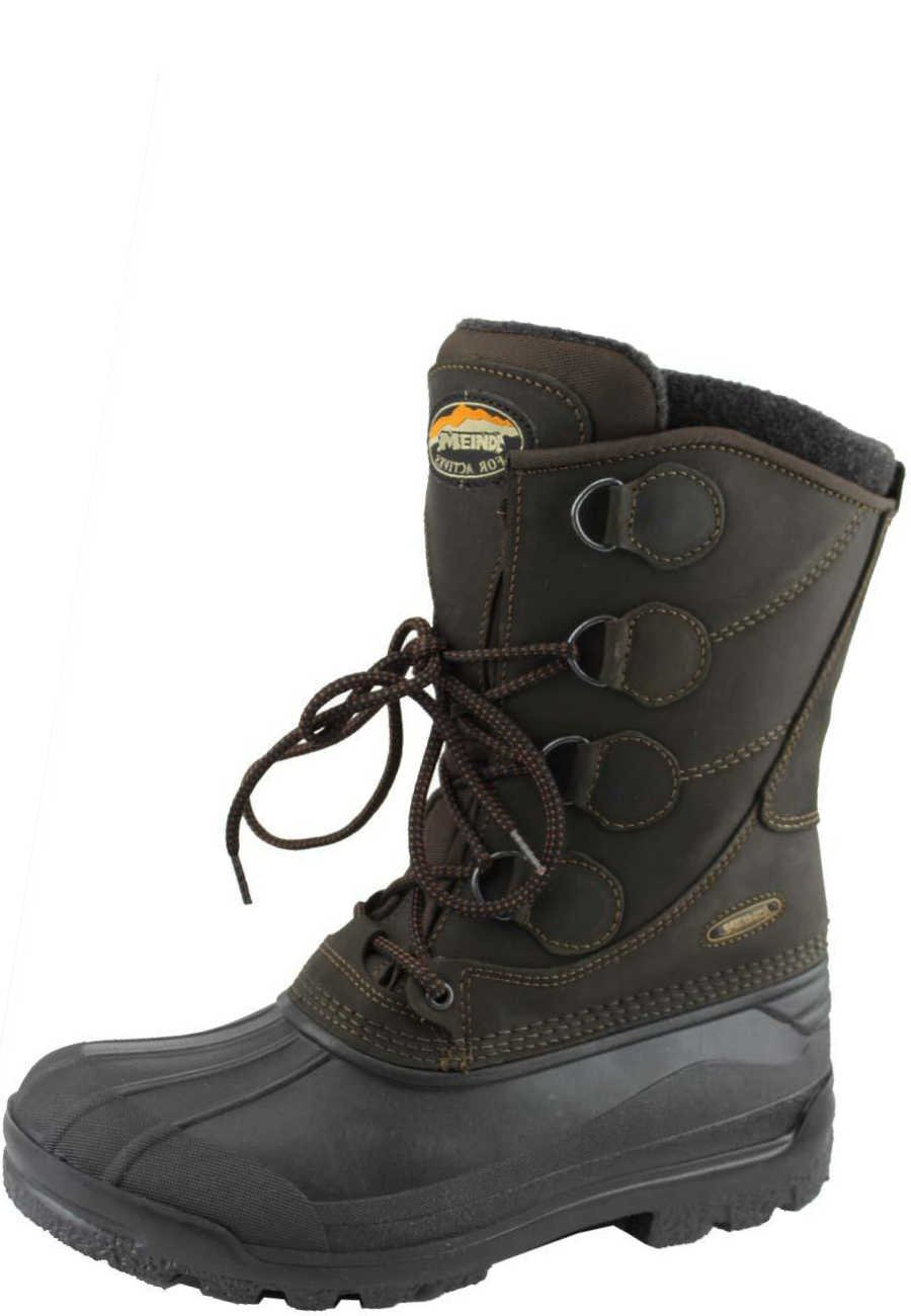 pre order big sale the best Meindl winter boots SÖLDEN brown