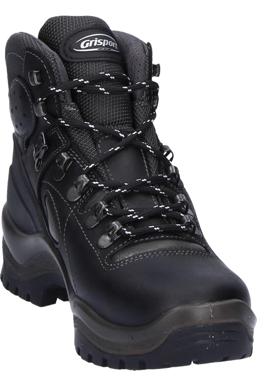 scegli genuino seleziona per autentico acquisto economico Grisport Black Lace-Up Trekking Boots - made from oiled leather, with  Gritex Membrane