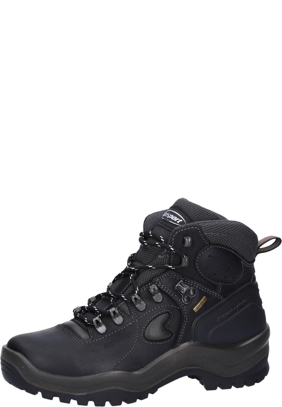 Grisport Black Lace-Up Trekking Boots