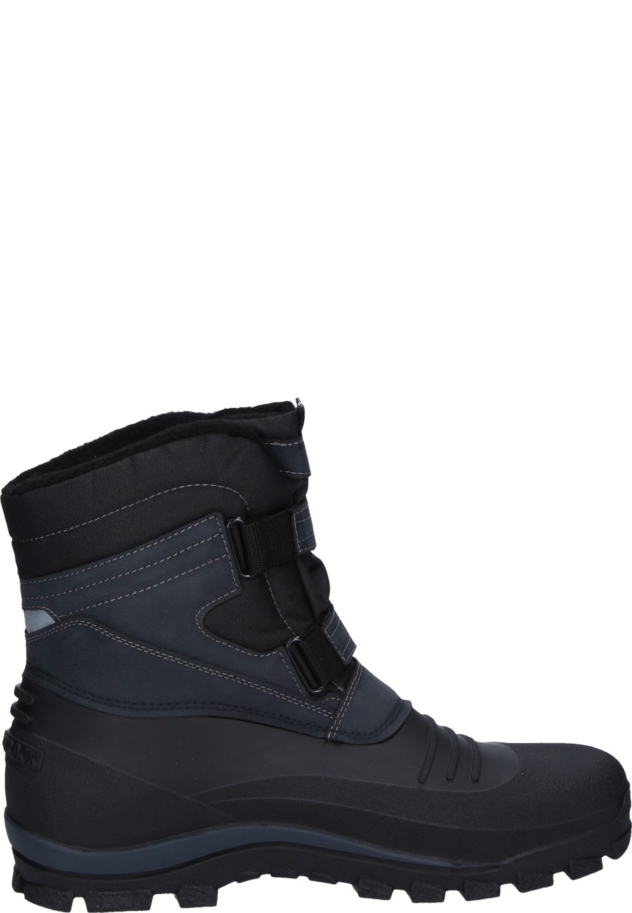 Spirale VELCRO BOOTS in black with