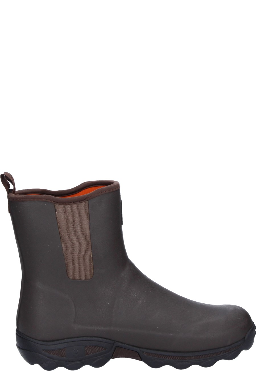 Clean Boot Marron Rubber Boots By Rouchette