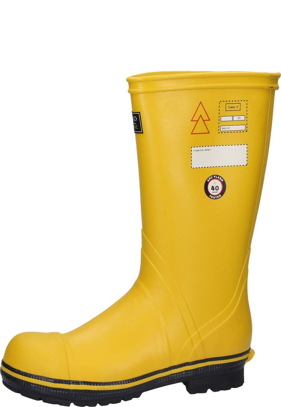Electrician S Boots Quatro Dielectric In Yellow Of The