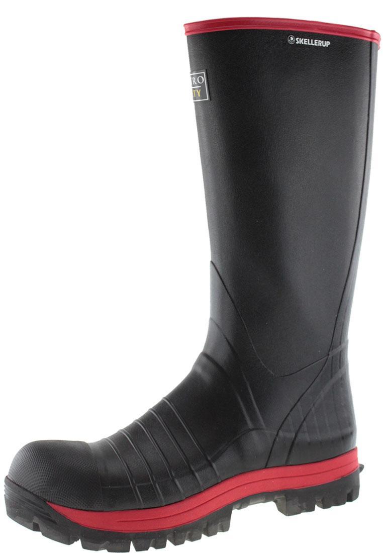 Quatro S5 Super Safety Knee Rubber Boot By Skellerup