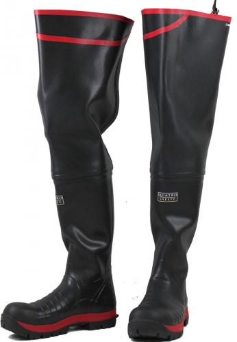 Quatro S5 Super Safety Thigh Wellington Boots By Skellerup