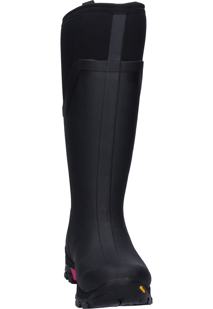 06fb4fefb363f ... Muck Boots ARCTIC ICE TALL LADY black-rose wellington boots ...