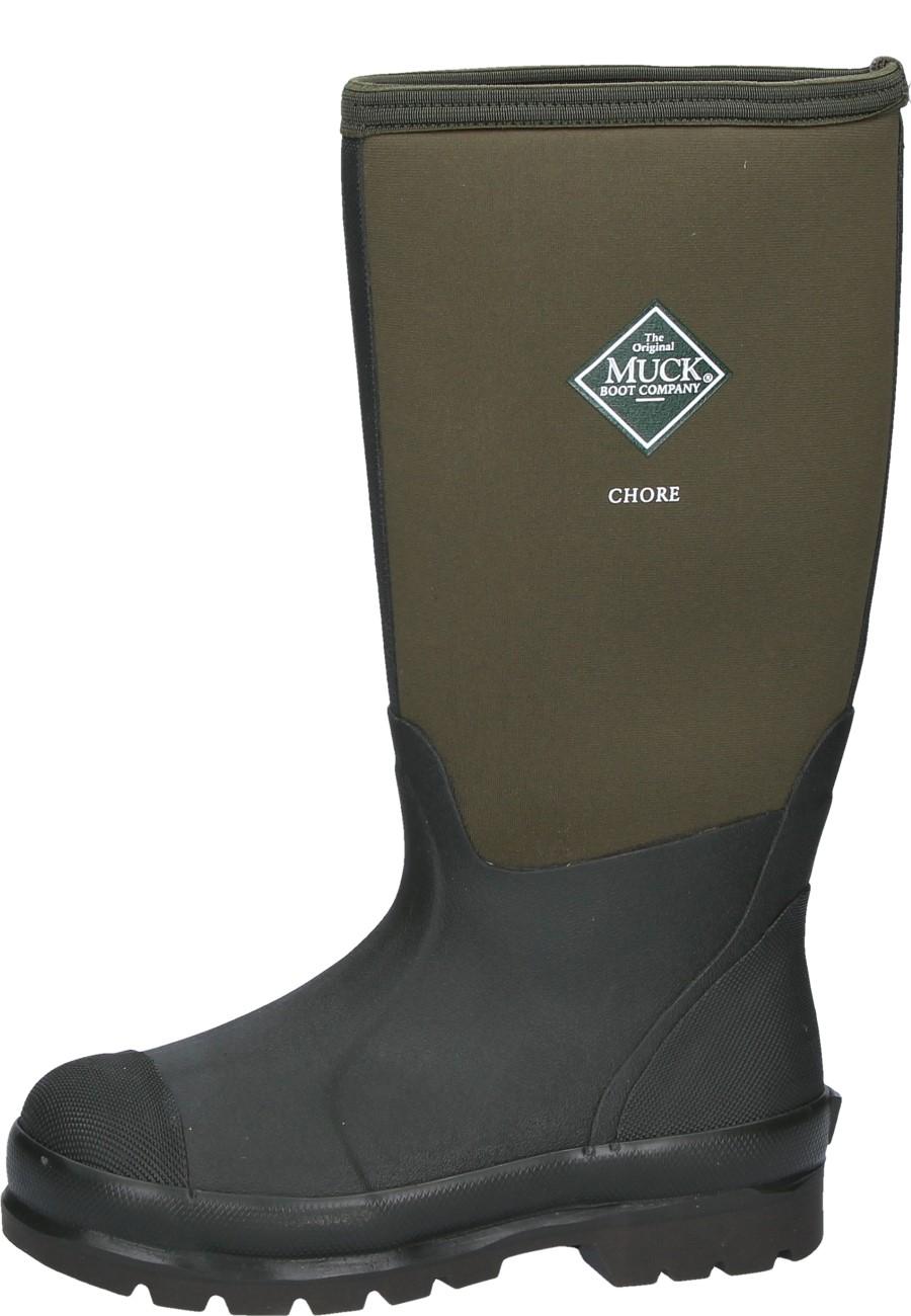 1cead6a8680 Muck Boots CHORE HIGH Moss Wellington boots