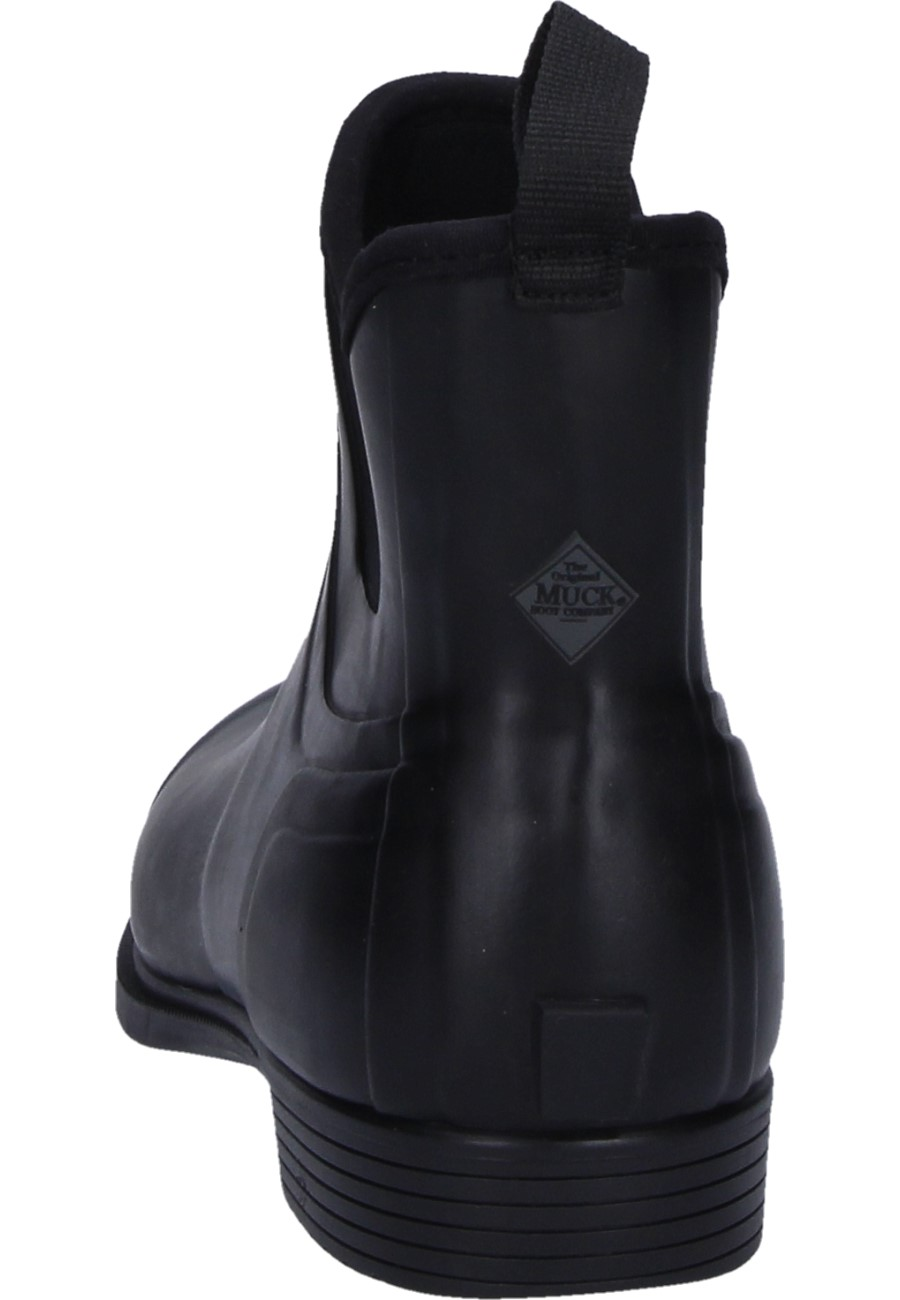 Derby Black Ankle Rubber Boots By The Muck Boot Company
