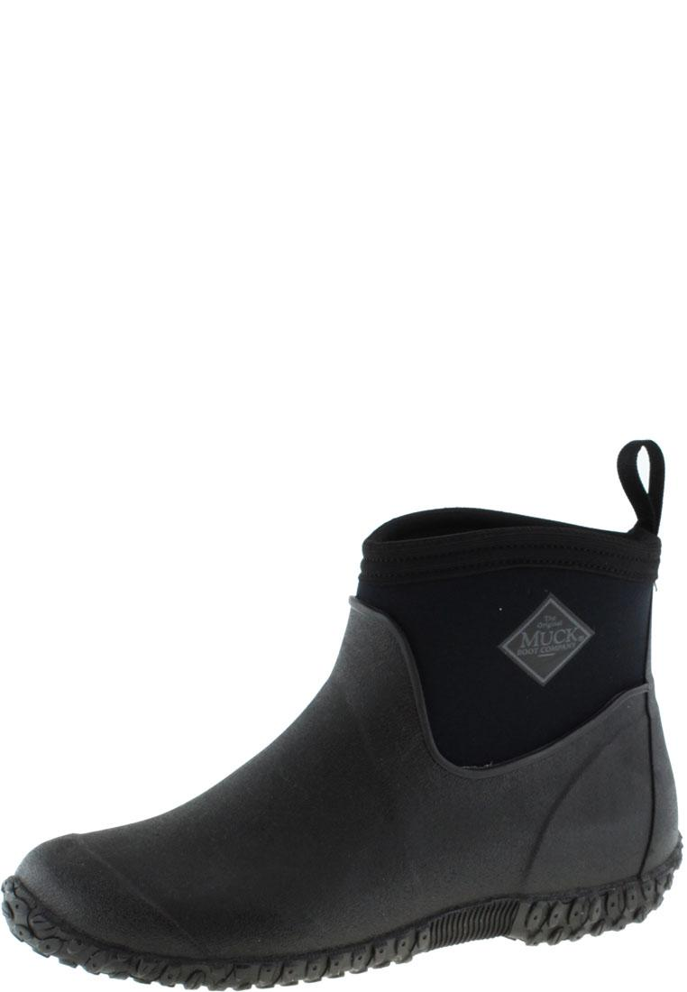 Muckster 2 Ankle black Ankle Rubber Boots by The Muck Boot Company