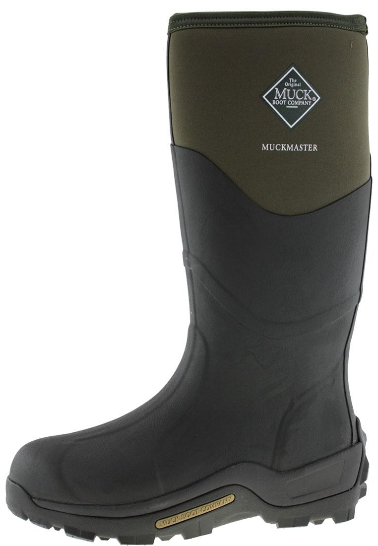 e91f009ad349 Muckmaster High moss Wellington boots by The Muck Boot Company