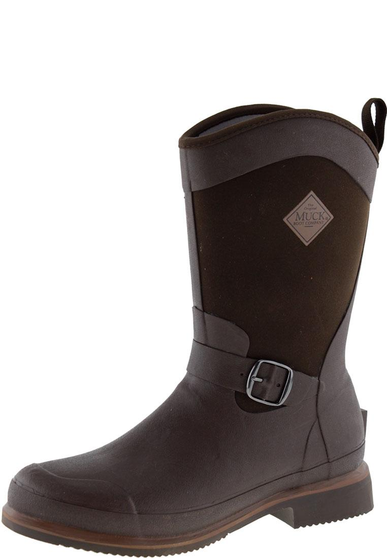 Reign Mid Chocolate Wellington Boots By The Muck Boot Company