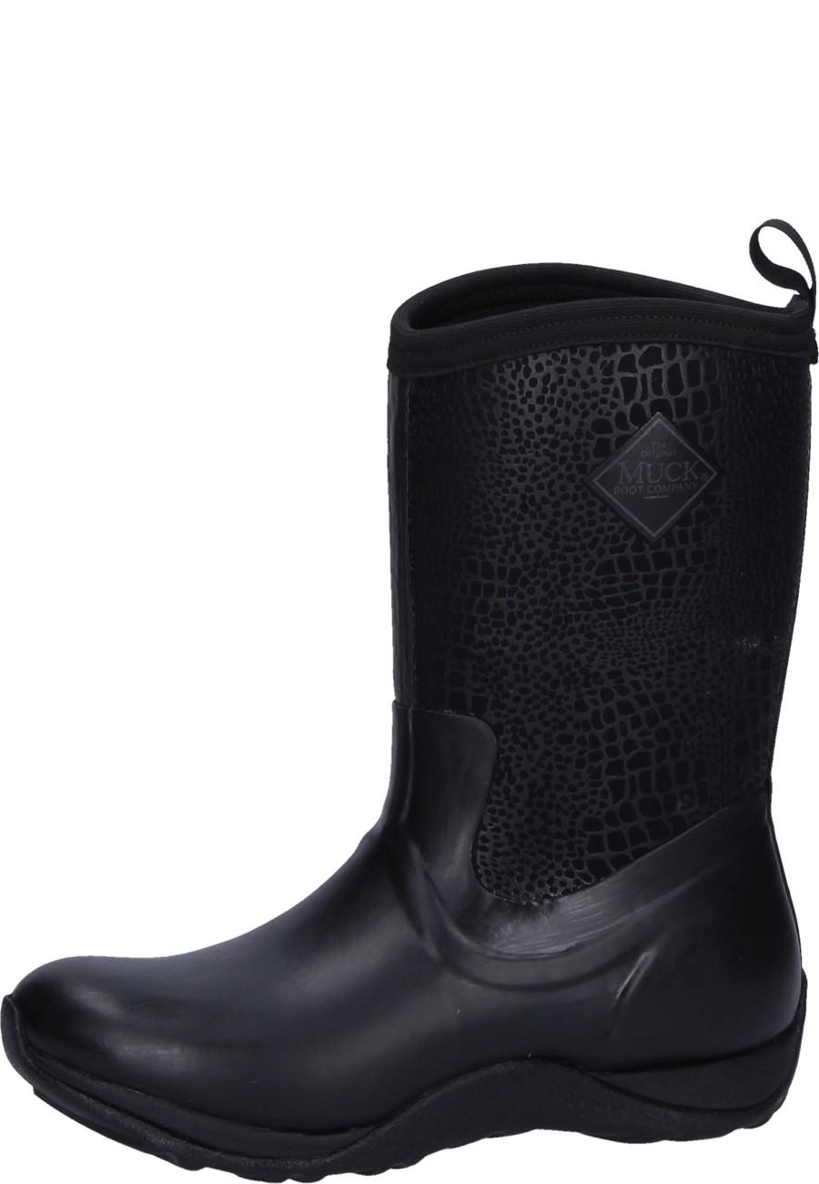 79533163be513 Winter boots Arctic Weekend black/croc print by Muckboots