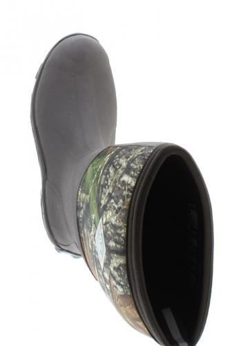 Muckboots WOODY MAX CAMO black men´s ankle rubber boots by Muck Boot Company