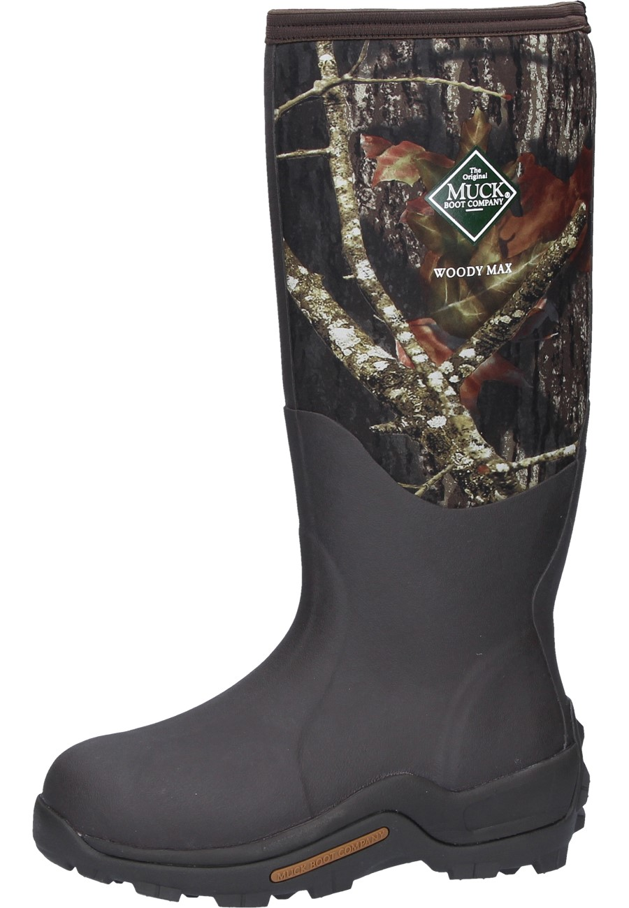 1cbea12a9a2 Muckboots WOODY MAX CAMO black men´s ankle rubber boots by Muck Boot Company