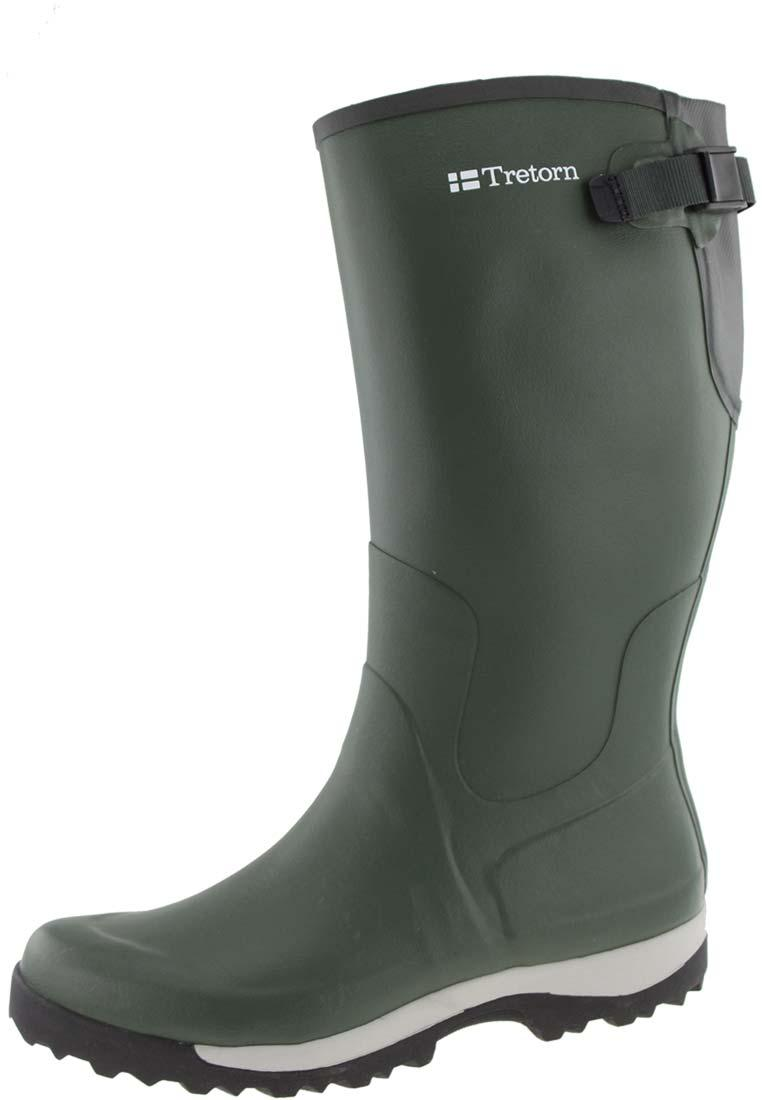 Tretorn Hajk Green Rubber Boots The Leisure Boot Made