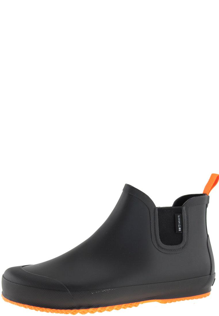 bo black orange ankle rubber boots for by tretorn