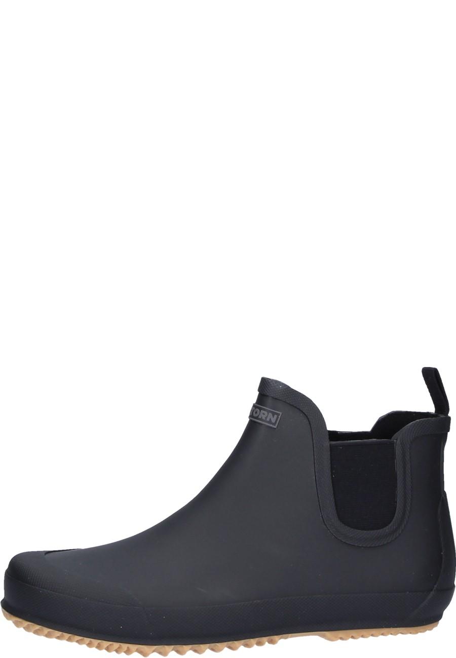 327b0627e BO black rubber ankle boots for men by Tretorn