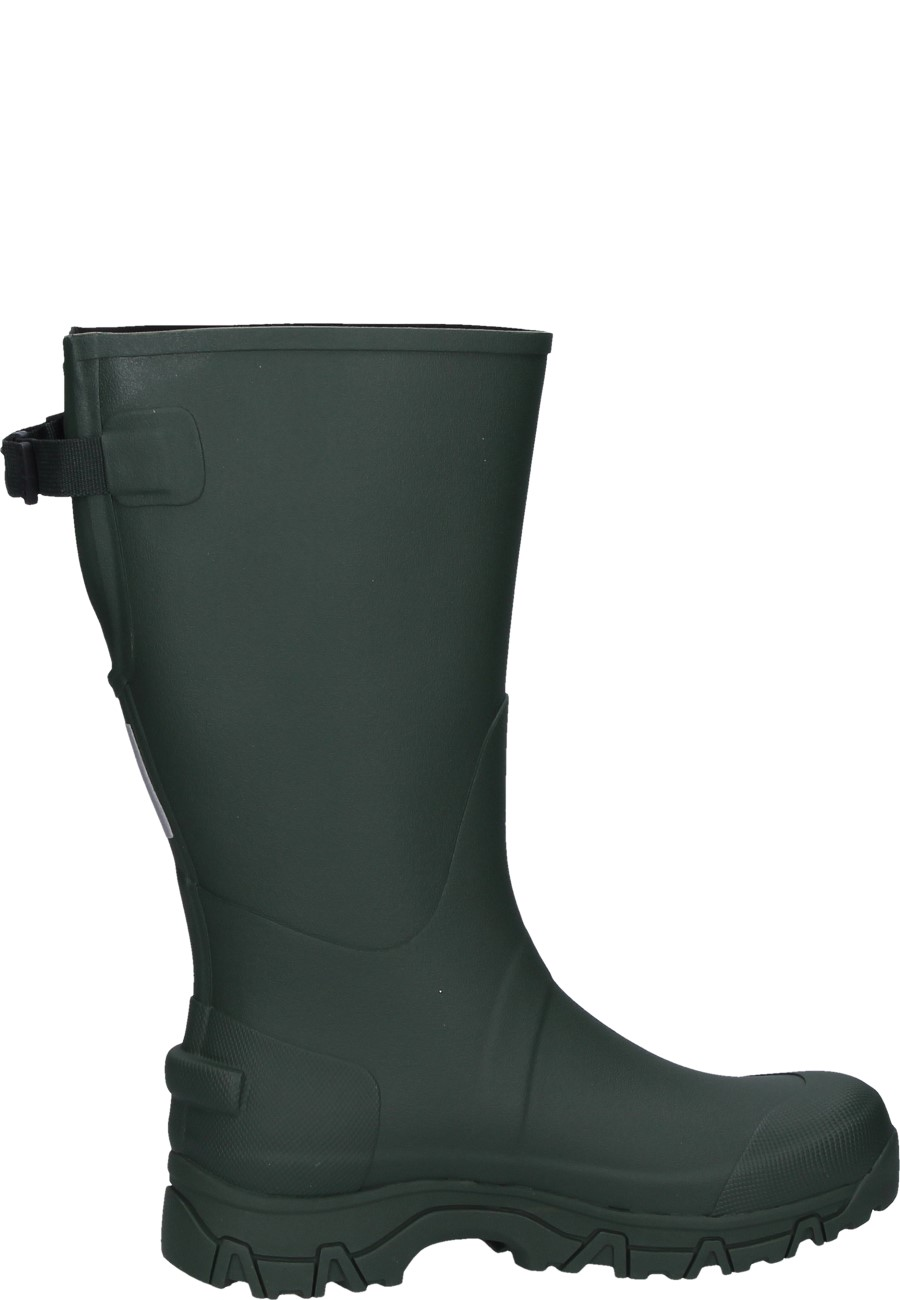 Tretorn Hajk S Green Rubber Boot
