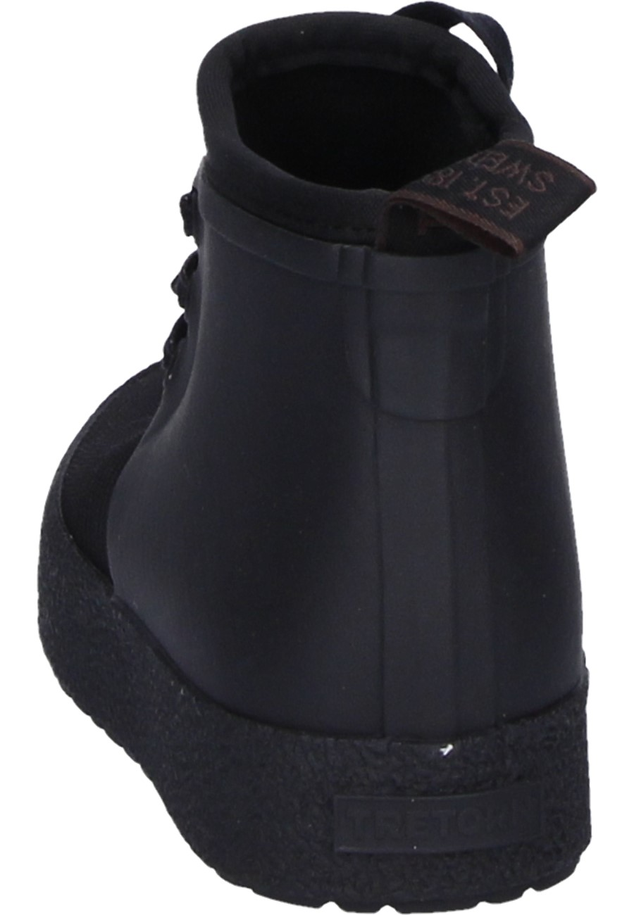 Sphere Hybrid Black Ankle Rubber Boots By Tretorn