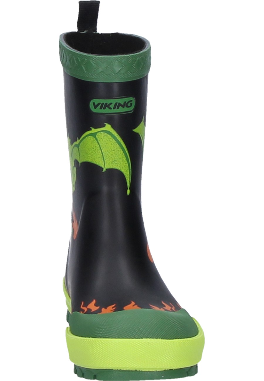 kids kids rubber for Viking by by boots blacklime DRAGE PCq4SS