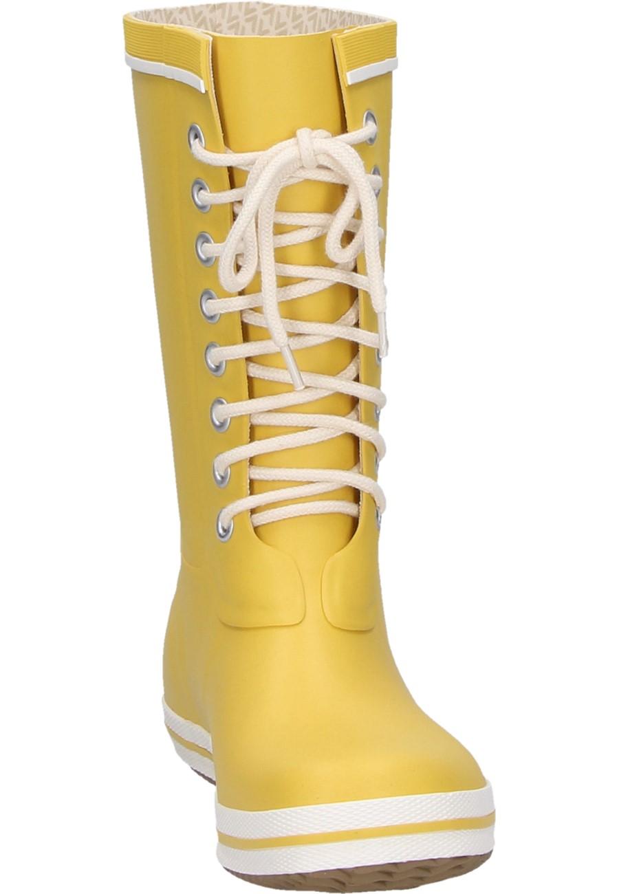 Viking Retro Light Yellow Women 180 S Rubber Boot
