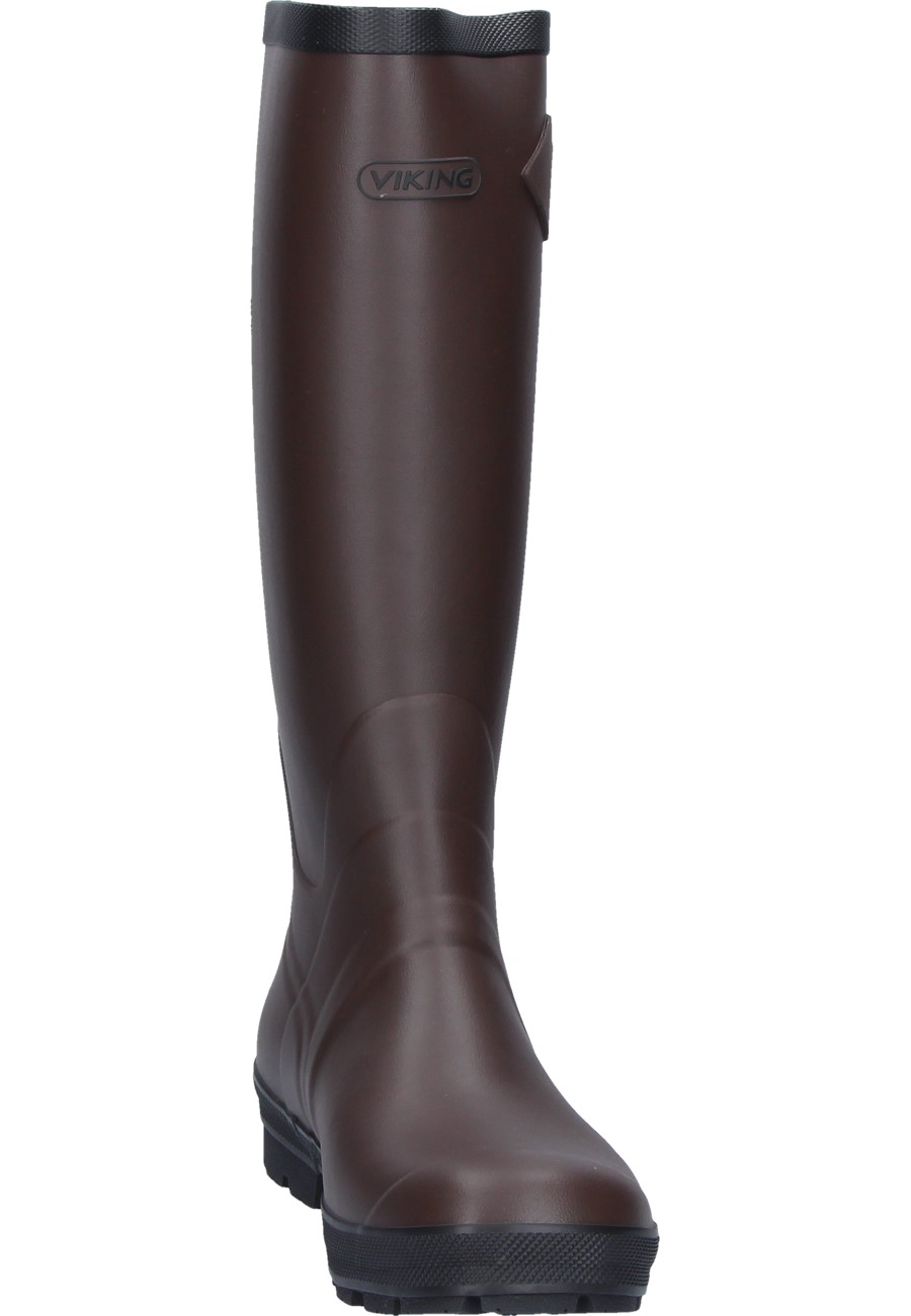 Viking Sport Ii Rubber Boots A Classic Brown