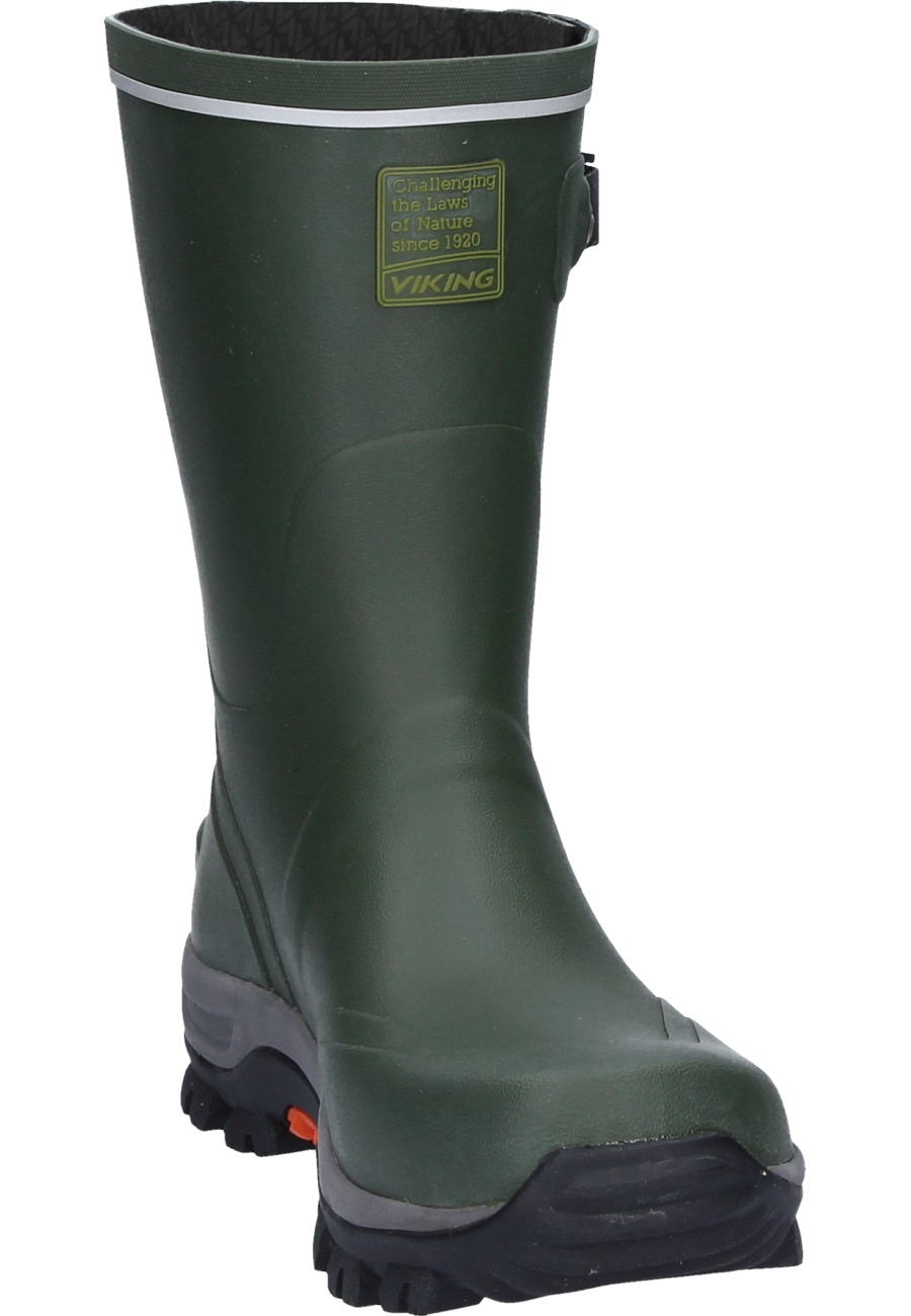 Viking Trapper Rubber Boots A Half Height Natural