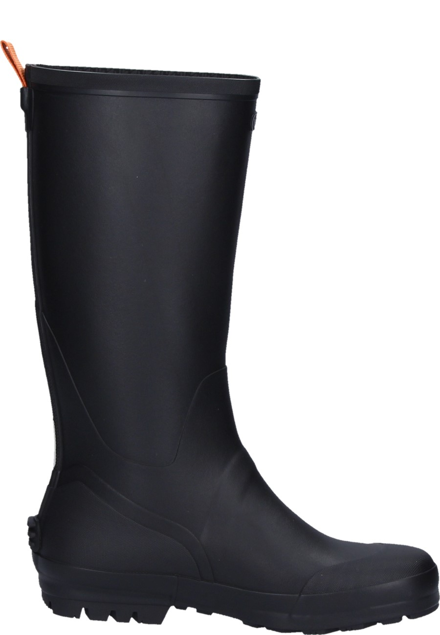 Touring 3 Black Natural Rubber Boot Unisex From Viking