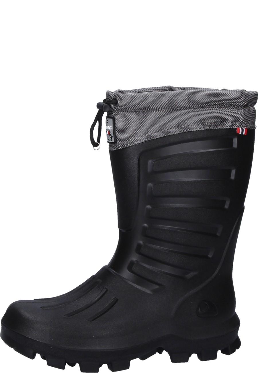 Arctic 2 0 Black Dark Grey Unisex Winter Wellington Boots